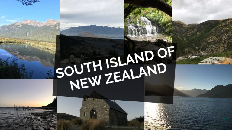 South Island of New Zealand