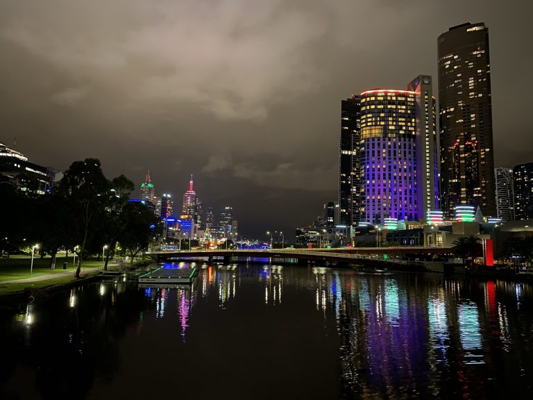 A Christmas Light Adventure in Melbourne